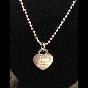 Tiffany logo necklace